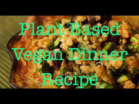 Plant based dinner recipe - YouTube
