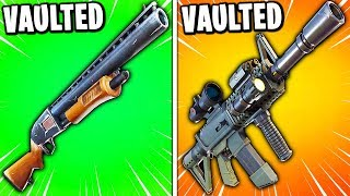 Fortnite just VAULTED everything... (SEASON 9 PATCH NOTES)