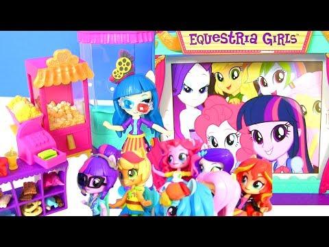 My Little Pony Equestria Girls Май Литл Пони Мультик MOVIE THEATER JUNIPER Эквестрия Герлз Игрушки
