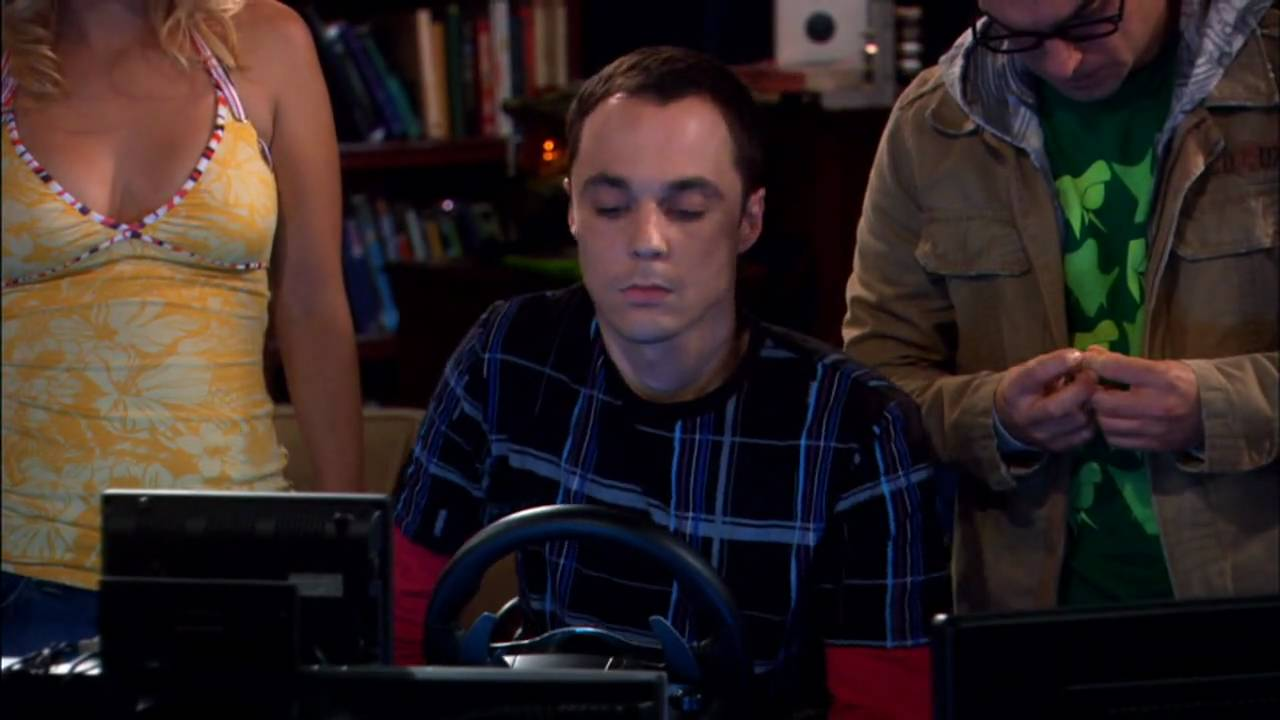 THE BIG BANG THEORY - Sheldon's first Driving Lesson - YouTube