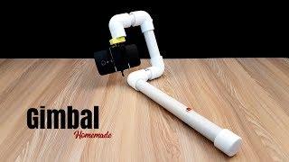 How to Make a Gimbal For Smartphone - Homemade