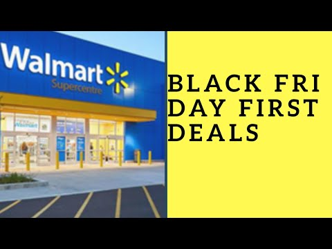 Walmart Black Friday first deals 2018