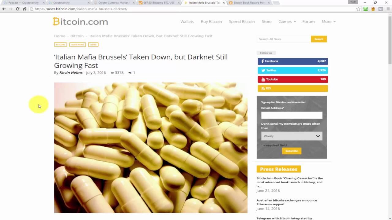 'Italian Mafia Brussels' Taken Down, but Darknet Still Growing Fast