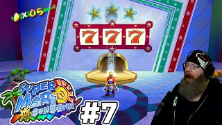 WINNING BIG ON THE SLOTS! | Super Mario Sunshine [Super Mario 3D All Stars] with Oshikorosu [7]