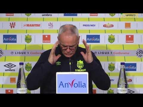 Claudio Ranieri avant FC Nantes - Amiens SC