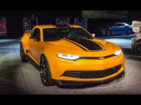 Sneak Peak 2016 Transformers Chevrolet Camaro Concept