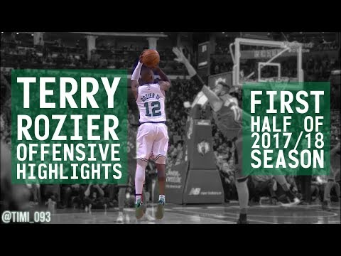 Terry Rozier OFFENSIVE HIGHLIGHTS First Half of 2017/18 Season