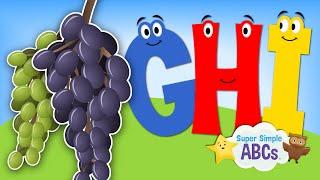 The Sounds of the Alphabet | G-H-I | Super Simple ABCs