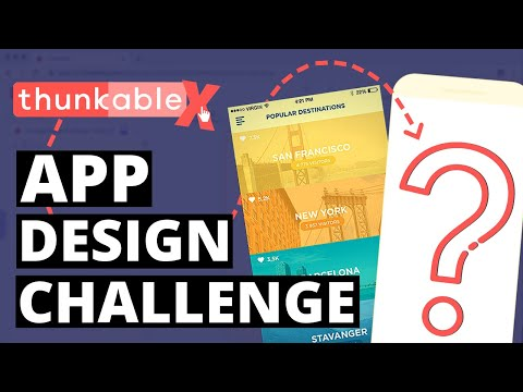 Creating A Beautiful App - Thunkable ❌ Design Challenge