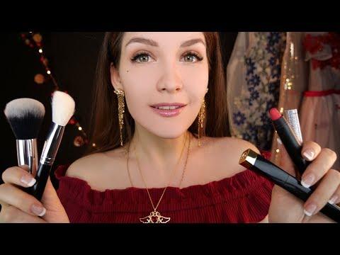АСМР Макияж на Новый Год 💄🎄 ASMR Makeup on New Year