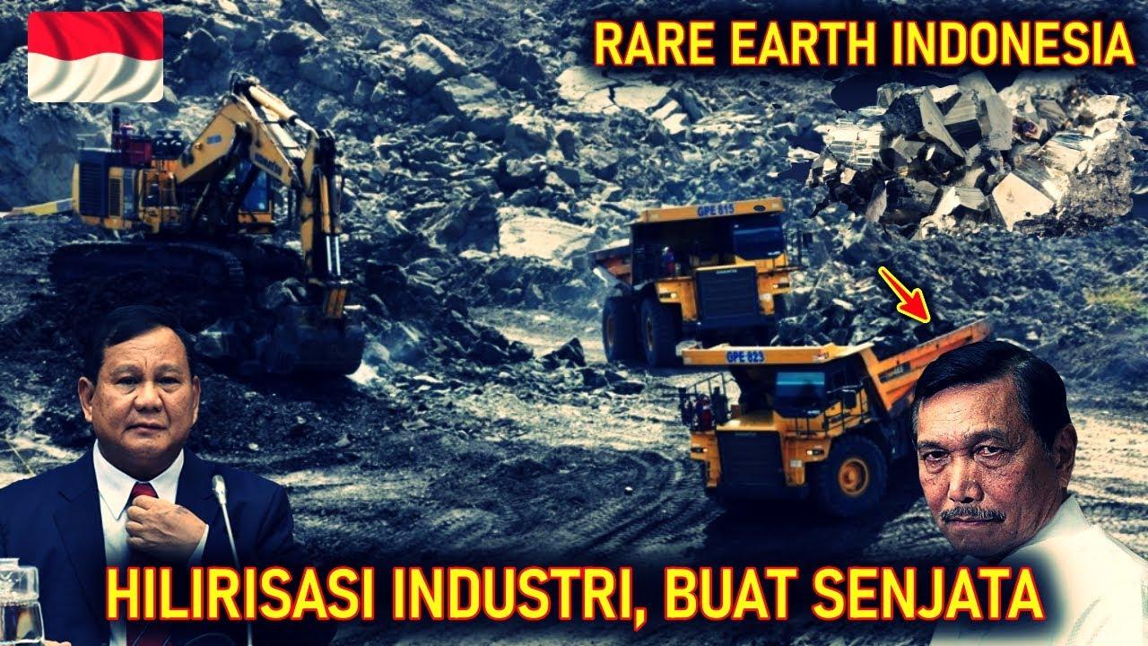 INCARAN DUNIA !! PEMERINTAH MULAI SERIUS MENGGALI POTENSI LOGAM RARE EARTH di INDONESIA