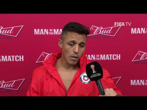 Alexis Sanchez: FIFA Man of the Match - Match 8: Germany v Chile