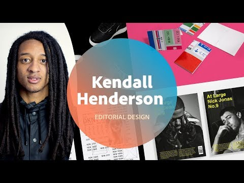 Editorial Design With Kendall Henderson - 3 Of 3