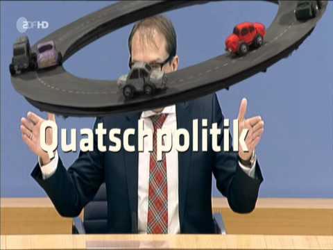 Alexander Dobrindt´s Maut - Toll (ZDF)