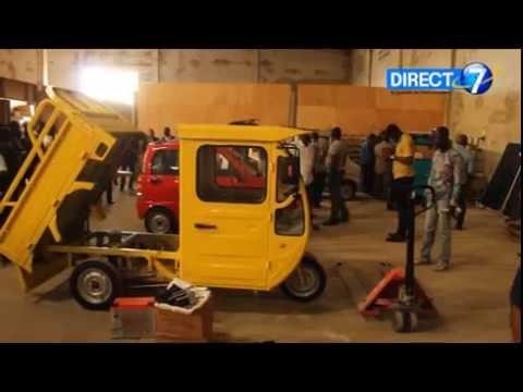 La première voiture électrique et solaire de l'Afrique est assemblée au Togo