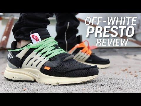 OFF WHITE NIKE AIR PRESTO REVIEW