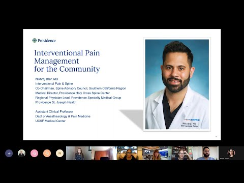 Interventional Pain Management for the Community with Dr. Nikhraj Brar