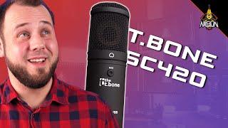 GÜNSTIGES Mikrofon zum Streamen und für YouTube - t.bone SC420