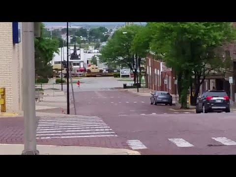 Military Train through Dodge City, KS 5/16/2015