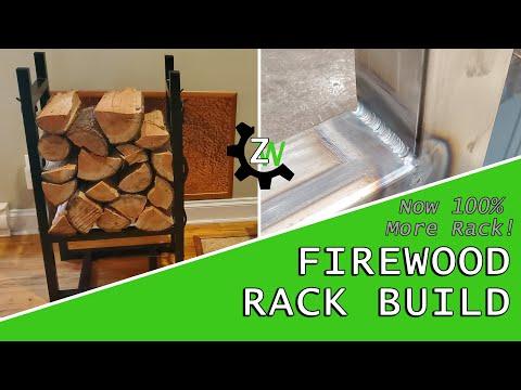 Nice Rack! DIY Indoor Firewood Storage