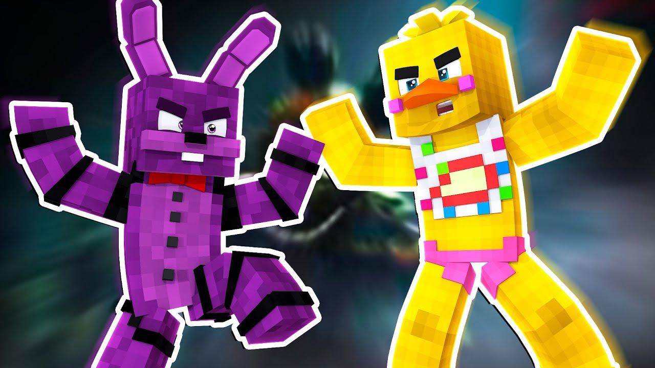 Chica VS Bonnie!   Minecraft FNAF Roleplay