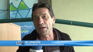 Hautes-Alpes : Inauguration d'un chalet de pêche à Savines