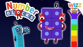 Numberblocks - Learn to Count   Easy Maths for Kids   Wizz   Cartoons for Kids