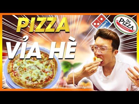 SƠN ĐẬM SÂU LẦN ĐẦU TIÊN ĂN THỬ PIZZA VỈA HÈ | LƯỢN KHẮP SÀI GÒN | WARZONE VLOG