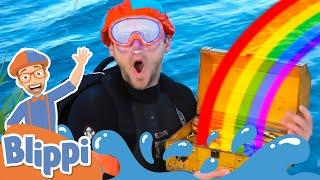 BLIPPI Splish Splash Water Song | Educational Songs For Kids