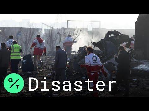 Eyewitness Describes Aftermath of Ukrainian Plane Crash near Tehran