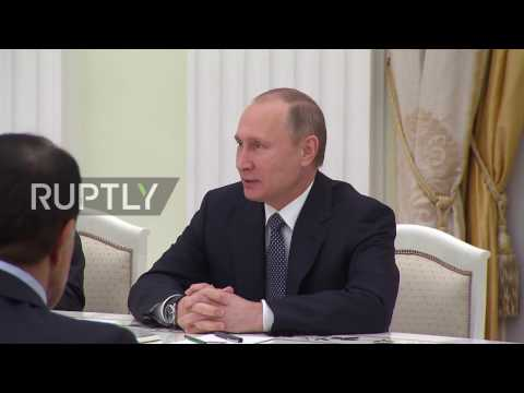 Russia: Putin congratulates investors of $11 billion Rosneft deal