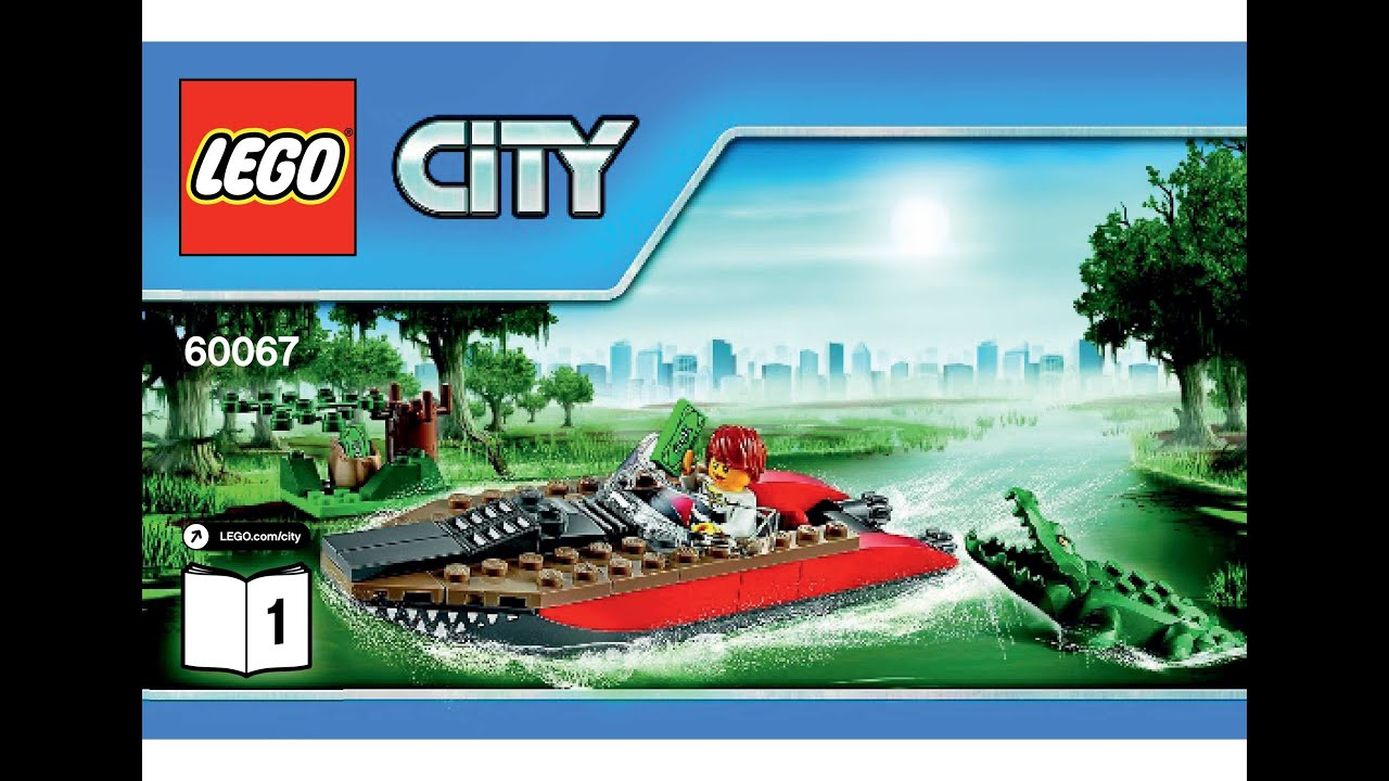 lego city police pursuit instructions