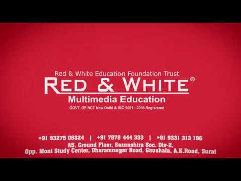 [Surat No : 1] Web Designing Training Institute (Red & White Multimedia Education)
