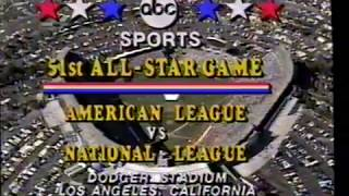 7/8/1980 MLB All Star Game Lineup American and National League