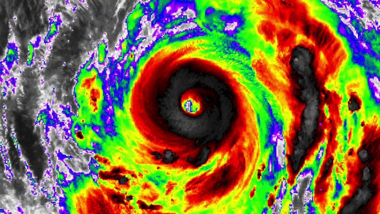 Super Typhoon Hagibis Intensifies - Update 11:00 AM JST