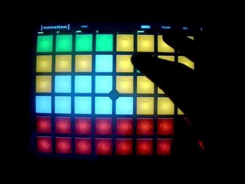 Launchpad App Dubstep Live 140 BPM Live Session