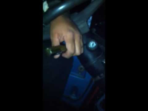 How to unlock your steering column with out a key