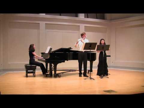 Eugene Goossens Pastorale et Arlequinade for oboe, flute and piano