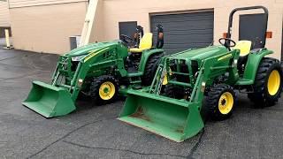 John Deere 3032e vs 3033r Tractor Comparison