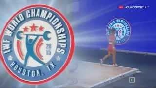 Тяжелая атлетика. Чемпионат Мира 2015 г. Женщины до 48 кг.