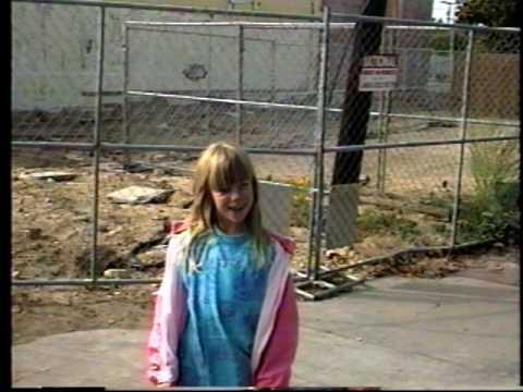 Walking around Downtown Santa Cruz November 1990