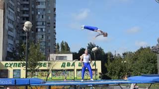 Кучеренко Андрей (7 лет), Кучеренко Иван. День спорта 2017, Одесса.