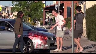 KILLER CAR ACCIDENT PRANK!!