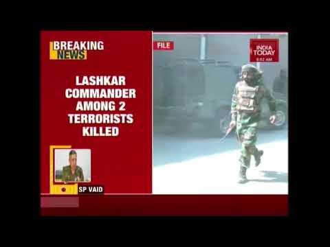 2 Terrorists Gunned Down in Jammu & Kashmir's Pulwama District