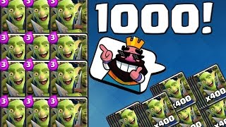 1000 MAL DIE GOBLINGANG! || CLASH ROYALE || Let's Play CR [Deutsch German HD]