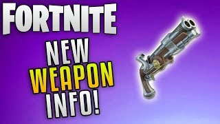 """Fortnite Save The World Update 3.5 """"Fortnite New Event Weapon Info"""" Fortnite Into The Storm Event"""