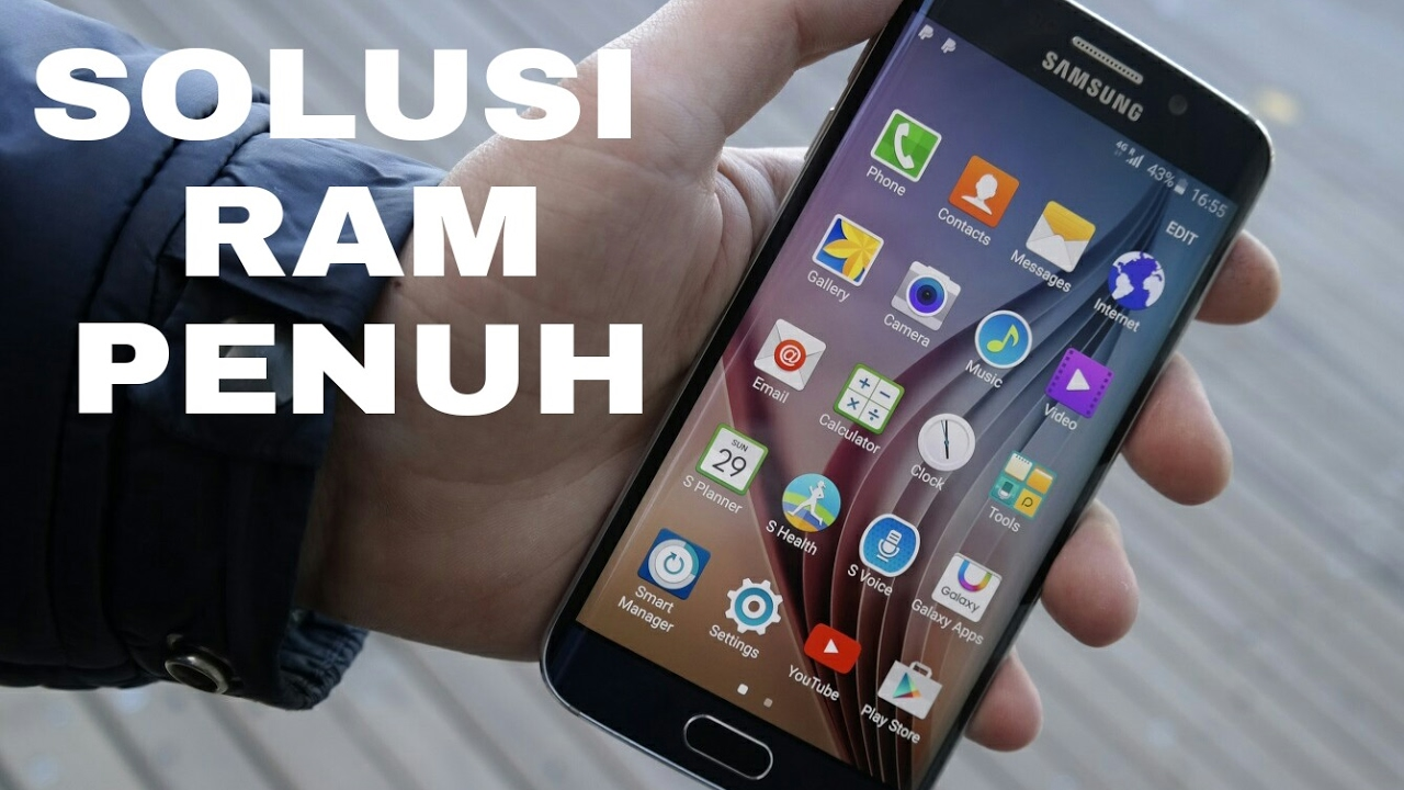 Cara Mengatasi Ram Penuh Di Hp Samsung Youtube