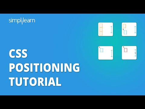 Position Elements on a Web Page Using CSS Positioning