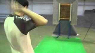 Nail Axmadu волновая, безоборотная  техника метания ножа