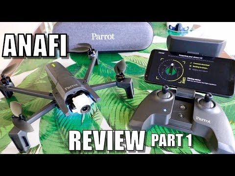 Parrot ANAFI Drone Review - Part 1 In-Depth - [Unboxing, Inspection